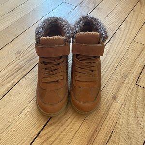 cute & comfy wedge sneakers